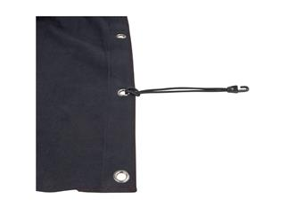 Showtec Backdrop Molton, schwarz 6m(B) x 6m(H)