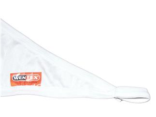 SHOWTEC Stretch Shape Triangle 250 x 250cm - Weiss