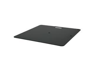 Showtec Baseplate 35x30cm , 4kg, schwarz für Pipe and Drapes