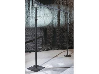 Showtec Baseplate 45x45cm , 8kg, schwarz für Pipe and Drapes