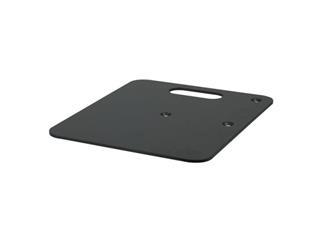 Showtec Baseplate 60x60cm , 14kg, schwarz für Pipe and Drapes