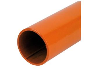 Showtec Baseplate pin 10cm Orange für Baseplate 35x30cm für Pipe and Drapes