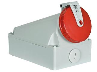 Showtec CEE Form 125A 5 Pin Wallmount Female IP67