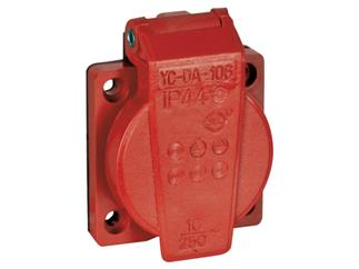 Showtec Chassis 230V/240V VDE Connector Red
