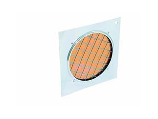 Dichro-Filter orange Rahmen silber für PAR-56