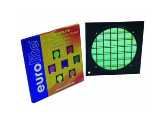 Dichro-Filter grün Rahmen schwarz PAR-64