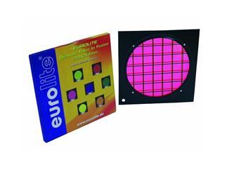 Dichro-Filter magenta Rahmen schwarz PAR-64
