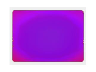 Dichro-Filter magenta 258x185x3mm klar