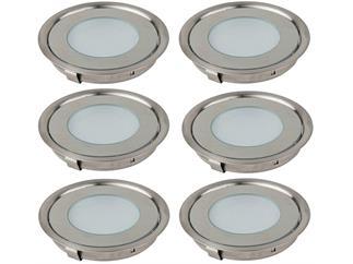 Artecta Bogota Floor 6er Set Kalt-Weiß LED