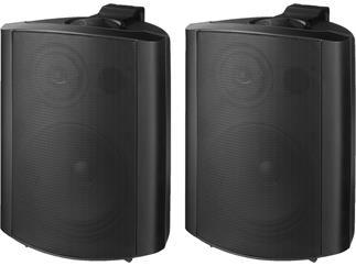Monacor 2-Wege-Lautsprecherboxen-Paar MKS-64/SW