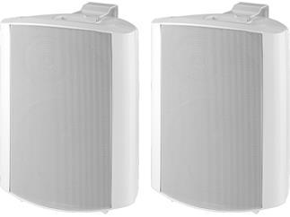 Monacor 2-Wege-Lautsprecherboxen-Paar MKS-64/WS
