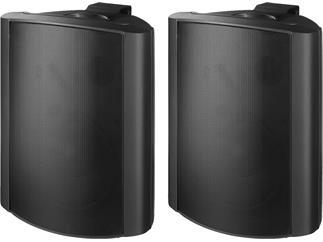 Monacor 2-Wege-Lautsprecherboxen-Paar MKS-88/SW