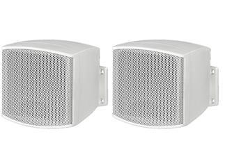 Monacor Mini-Lautsprecherboxenpaar MKS-26/WS