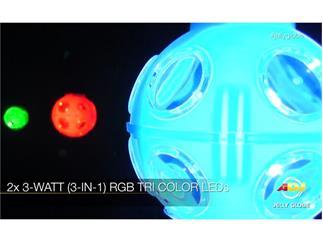 American DJ Jelly Globe ADJ LED-Kugel 2x3W