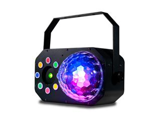 ADJ Stinger Star - 3 in 1 Effekt Moonflower / Strobe Chaser / Laser