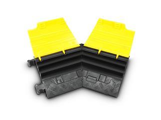 Defender Mini L 45° Biegung links für 85200 Kabelbrücke 3 Kanäle