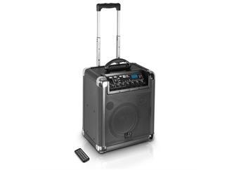 LD Systems Road Jack 10 - Mobiler PA Lautsprecher mit Akku und Bluetooth