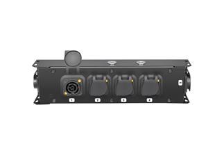 Adam Hall Accessories PROPORT 4 TT - Stromverteiler 1x Power Twist TR1 Eingang + 5 x Power Twist TR1 Ausgänge