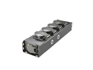 Adam Hall Accessories PROPORT 4 T - STROMVERTEILER 4x IP54 + POWER TWIST TR1 IN/OUT