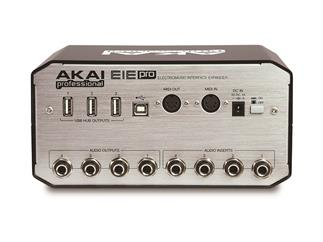 Akai EIE PRO - USB 2.0 Audio/MIDI Interface mit USB Hub, Electromusic Interface Expander