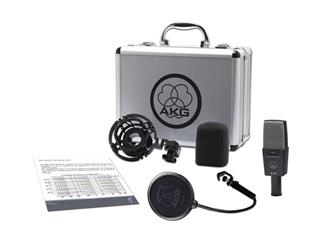 AKG C 414 XLS - Großmembran-Kondensator-Instrumenten-Mikrofon