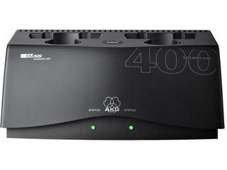 AKG CU 400 - Akku-Ladestation mit zwei Fächern