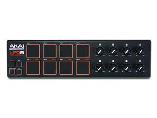 Akai LPD 8 V2, Laptop Pad Controller