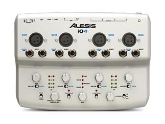 Alesis iO4, 24-Bit Recording Interface mit vier Kanälen