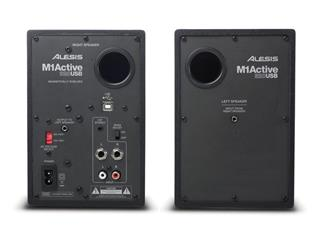 Alesis M1 Active 320 USB, Desktop Monitore mit USB Audio Interface