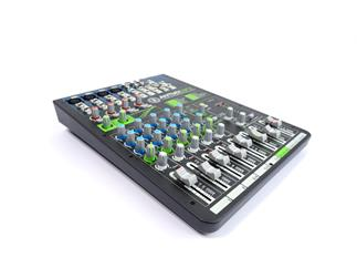 ANT Audio ANTMIX 8FX  8 Kanal Mischpult 4x Mic/Line 1x Stereo Input mit Effekten