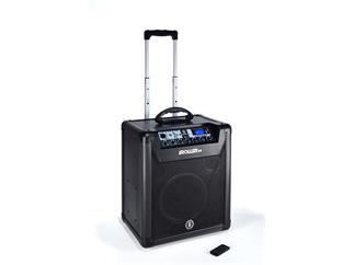 "ANT Audio iRoller Akku Lautsprecher 10"" mit Multimediaplayer"
