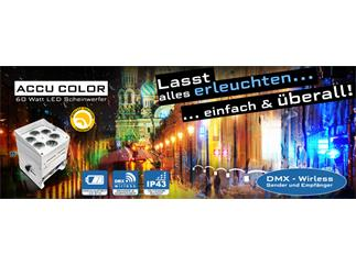 JB Systems - ACCU Color - 6 x 10W RGBWA LED