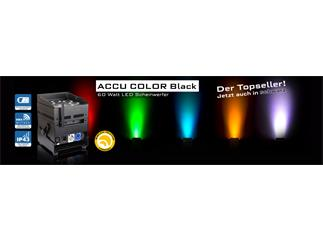 JB Systems - ACCU Color, schwarz- 6 x 10W RGBWA LED