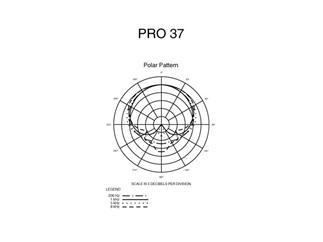 Audio Technica Pro 37 Kleinmembran Kondensatormikrofon mit Nierencharakteristik