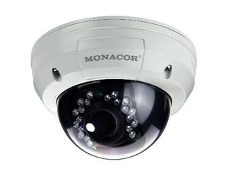 MONACOR TVCCD-252SET Dome-Farbkamera