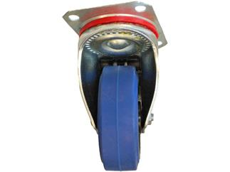 Blue Wheel gebremst 100mm, 150kg pro Rolle