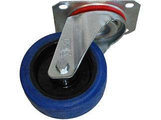 Blue Wheel ungebremst 100mm, 150kg pro Rolle
