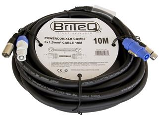LIGHT 	 BriteQ - Powercon/XLR PRO Combi Cable 10m