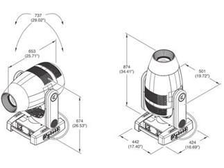 Claypaky AXCOR Profile 900