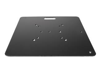 Global Truss Bodenplatte Stahl schwarz 600x600x5mm