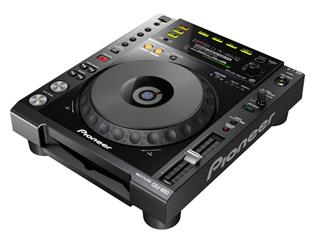 Pioneer CDJ-850-K, Prof. Single DJ CD-Player, schwarz