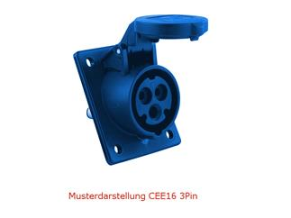 EUROLITE SB-66 Stromverteiler 7,5m, 16A 5Pin-CEE auf 6x 16A 3Pin-CEE