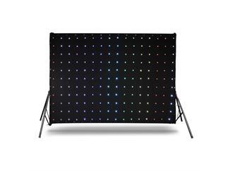 Cameo LED DROPIX 176 - LED Vorhang + Matrix Effekte + Controller + Kabel + Tasche