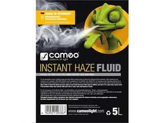Cameo INSTANT HAZE FLUID 5L - Spezielles ölfreies Hazefluid für Cameo INSTANT Hazer