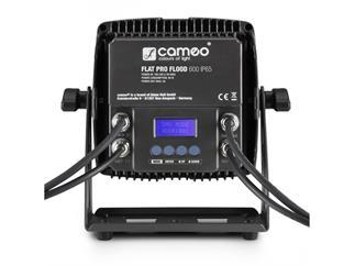 Cameo FLAT PRO FLOOD 600 IP65 - Outdoor-Fluter mit 9x12W RGBWA+UV LEDs