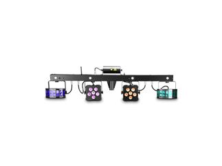 Cameo Mutli FX Bar- Komplettlösung mit 5 Lichteffekten für mobile DJs und Bands