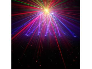 Cameo Multi FX Bar- Komplettlösung mit 5 Lichteffekten für mobile DJs und Bands