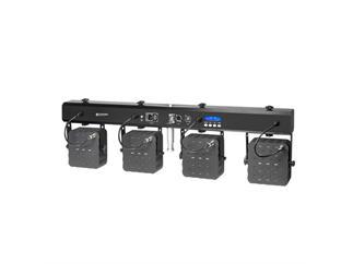 Cameo Multi PAR 2 - Kompakte 28 x 3 W Tri Colour LED Lichtanlage inkl. Transportcase