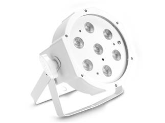 Cameo FLAT PAR 1 TW IR WH - 7 x 4 W High Power FLAT Tunable White, IR-Remote