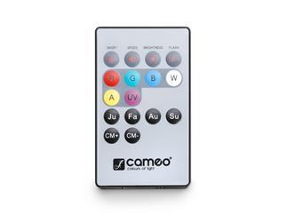 Cameo FLAT PAR CAN 7X3W UV IR WH